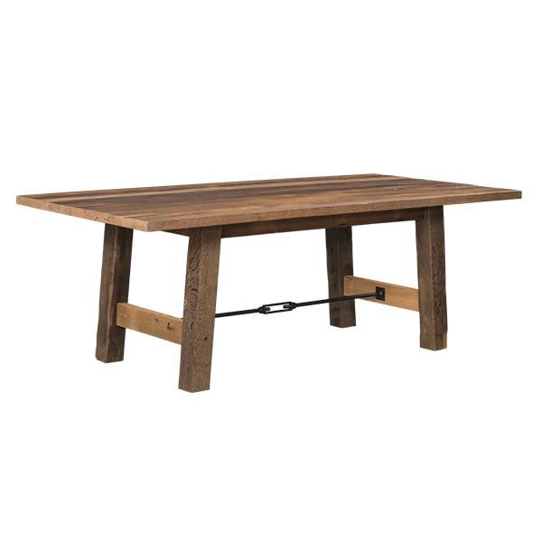 Cleveland Dining Table Solid Top LO RES
