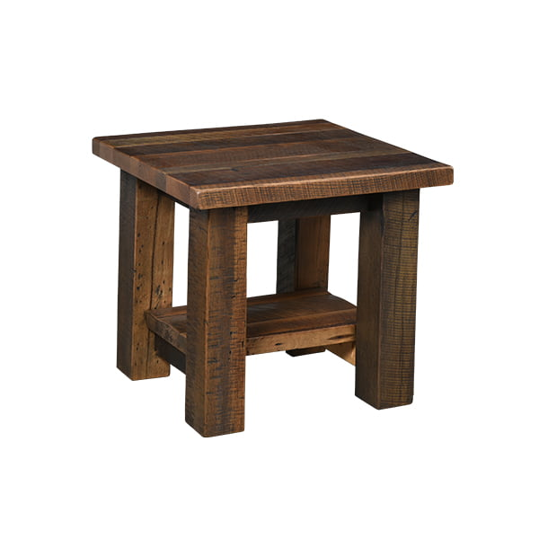 Kingston End Table with Shelf LO RES
