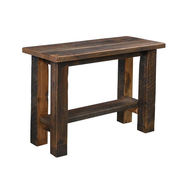 Kingston Sofa Table with Shelf LO RES