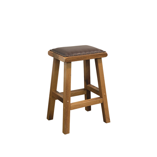 Leather Seat Bar Stool LO RES