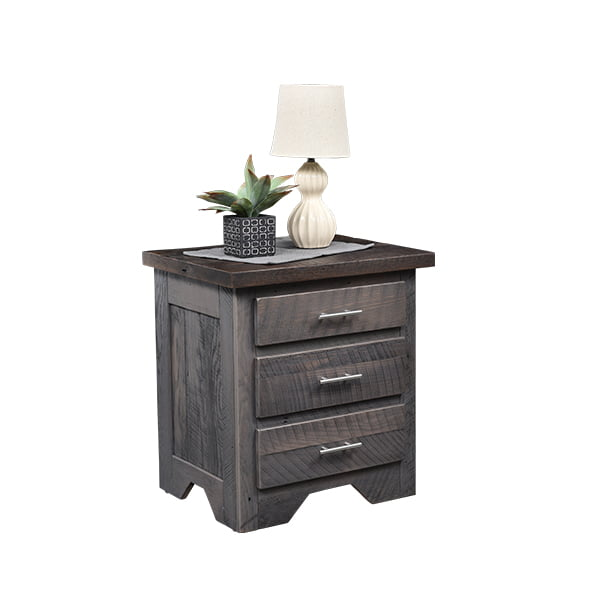 London Fog 3 Drawer Nightstand LO RES