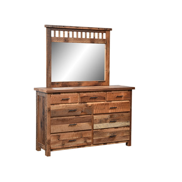 Savannah Mirror and 9 Drawer Dresser LO RES