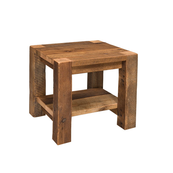 Timber Ridge End Table with Shelf LO RES