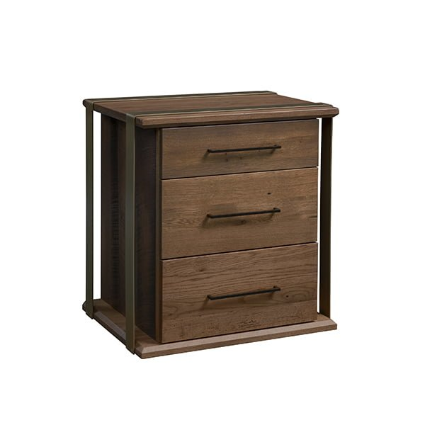 1869 nightstand 3 drawers